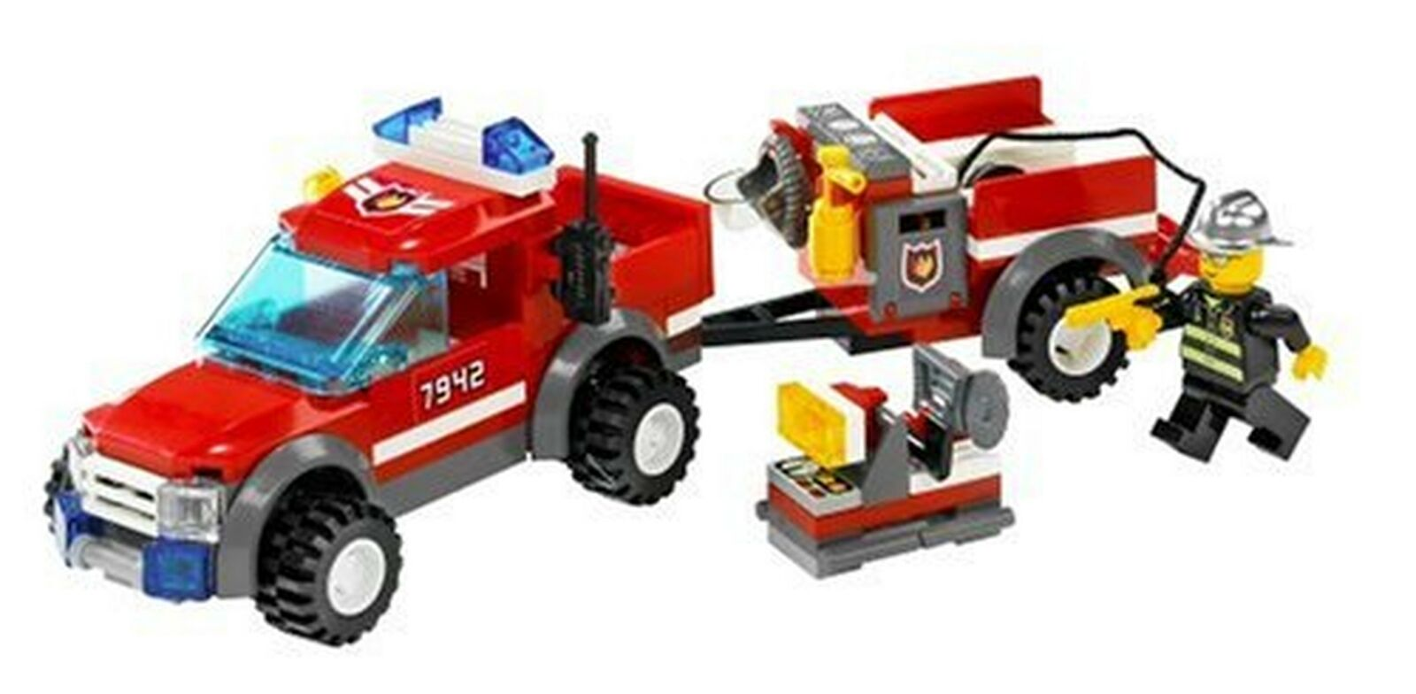 Lego City Off Road Fire Rescue (7942)