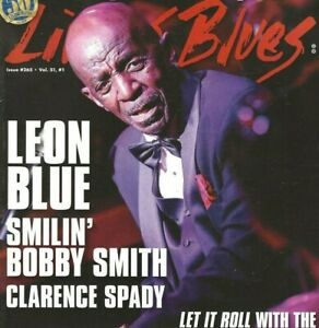 LIVING-BLUES-MAGAZINE-NUMBER-265-FEB-2020-LEON-BLUE-BABY-FACE-LEROY-TRIO