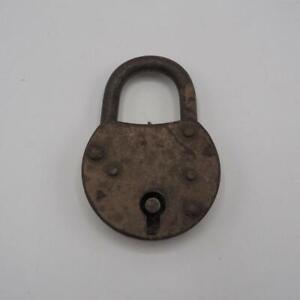 Vintage-Old-Padlock-Lock-for-Skeleton-Key