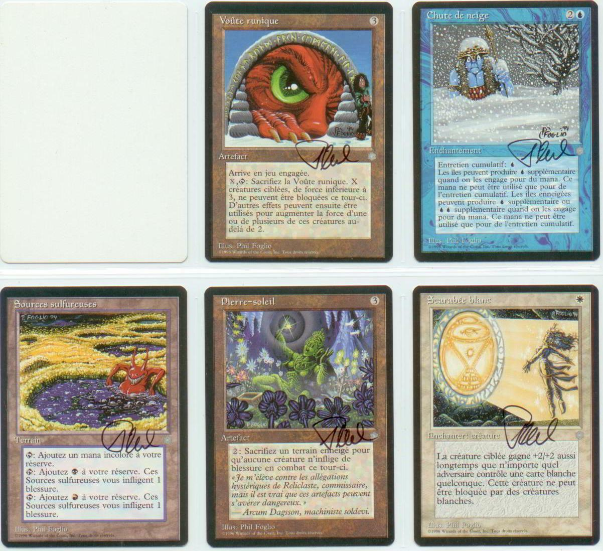 SIGNED Phil Foglio Artist Proof _13x FRE ICE AGE_ Anarchy, Anarchy, Anarchy, Sulfur Springs, Lure+ 0fc4b3