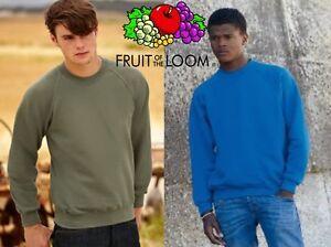 Of A Pezzi Scelta Loom Stock Fruit Felpa Girocollo Taglie Uomo The 5 Colori qBxnHOwXv