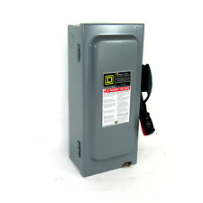 Square D H361 Safety Disconnect Switch 30 A 600v Acdc
