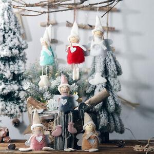 Christmas-Angel-Plush-Doll-Toy-Christmas-Tree-Pendants-Ornaments-Home-Decoration