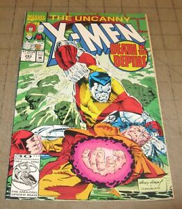 Uncanny-X-MEN-293-Oct-1992-VF-Condition-Comic-Death-in-The-Depths