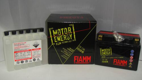 VTR SP2 BATTERIA FIAMM MOTOR ENERGY FTZ12S-BS HONDA VTR SP1 RC51 1000