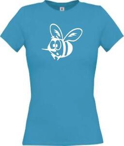 Lady-T-Shirt-Funny-Tiere-Biene