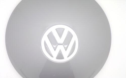 WHITE VW Volkswagen a cupola di Coprimozzo logo Adesivi Decalcomanie Chrome Splitscreen Beetle