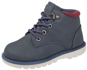 e8acfb634850 Buckle My Shoe Boys Lace Up Walking Ankle Boots Chelsea Comfort ...