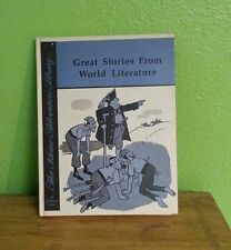 1968 KIDS BOOK THE HOME ADVENTURE LIBRARY GREAT STORIES FROM WORLD LITERATURE