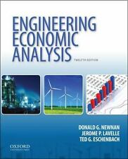 Engineering Economic Analysis by Ted G. Eschenbach, Donald G. Newnan and Jerome…