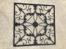 Wrought Iron Wall Grille Decor from i.ebayimg.com
