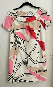 Alberto makali dress size 8, Beautiful linen dress with hints of glitter pastel