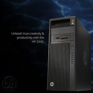 HP Z440 E5-2673 v3 12-Core, 64GB RAM, 2x Caddies