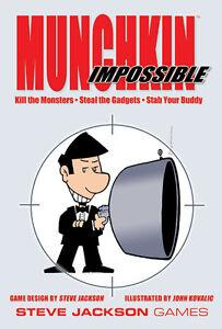 Munchkin-Impossible-Base-Set-Steve-Jackson-Games-Brand-New-Factory-SEALED