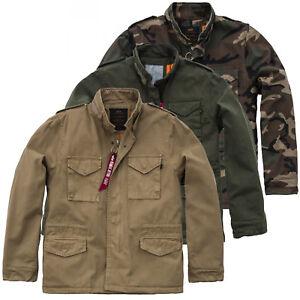 Gefüttert Herren Jacke M65 Alpha Bis M Industries S Vintage Cw 3xl 65 RT5qwx50