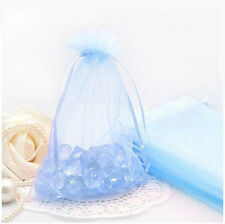 9x 3 clear cellophane gift bags easter eggs food sweet hampers 100pcs organza sheer wedding party favour xmas gift bags candy jewelry pouch bag negle Images