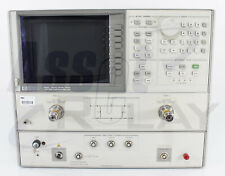 Hp Agilent 8703a Lightwave Component Analyzer With Options 12 100 And 220