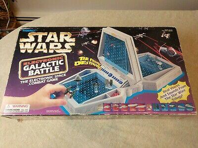 Star Wars 1997 Electronic Galactic Battle Battleship Game Tiger Ebay