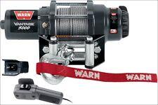 Warn Vantage 3000 lb 12V Winch w/ Wire Rope for Offroad ATV 4 Wheeler