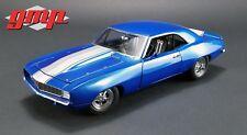 Chevrolet Camaro 1320 Drag Kings Coupe 1969 Blue White GMP 1:18 GMP18876
