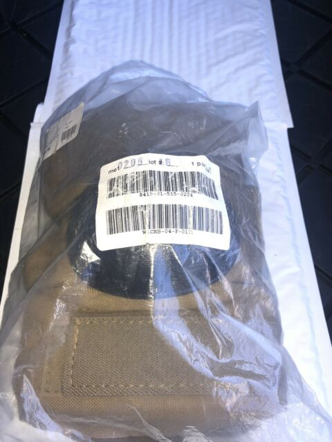 New Alta Military Elbow Pads Large Coyote Brown W/Black Cup 8415-01-515-0224