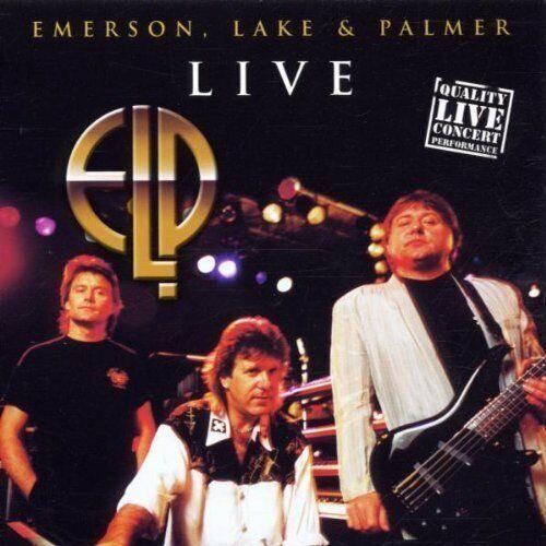 Emerson Lake & Palmer Live (Disky)  [CD]