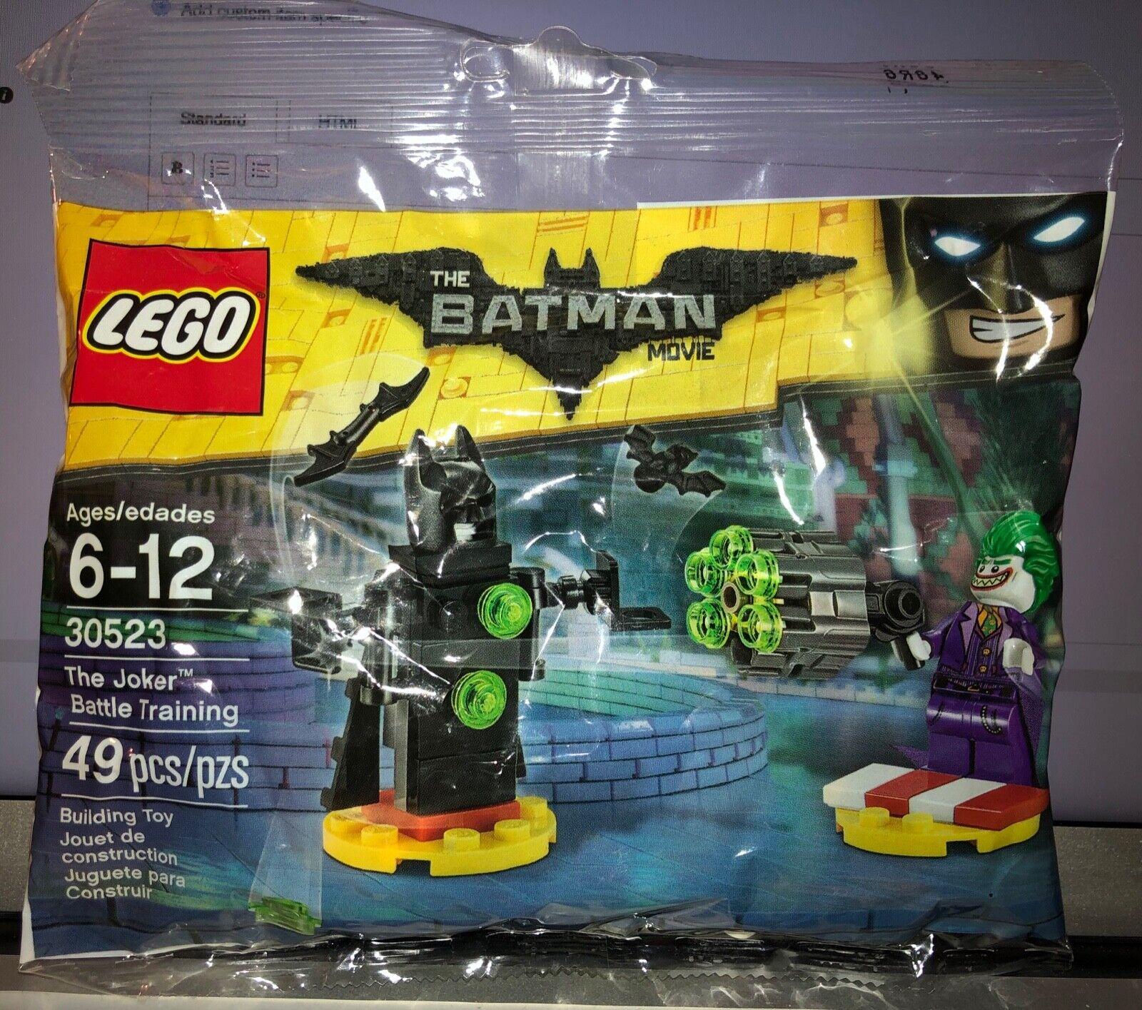 LEGO The Batman Movie 30523 The Joker Battle Training New /& Sealed