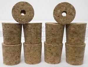 Homebrew-Bored-Cork-Wine-Demijohn-Bung-Pack-Of-10-Bungs