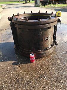 Fire Pit Pedestal Base Cast Iron Water