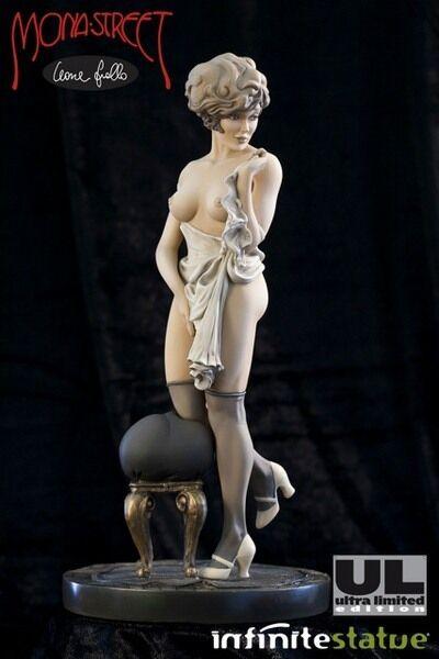 Mona rue (Leone Frollo) Ultra  Limited Seppia Statue (66 pcs) + Sketchbook  livraison directe et rapide