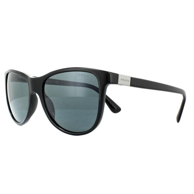 5e7bafff6cf PRADA Sunglasses Spr20s 1ab-0a9 Black Frames Gray Lens 56mm for sale ...