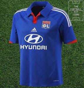 Lyon-Away-Shirt-Official-Adidas-Olympique-Lyonnais-Football-Jersey-All-Sizes