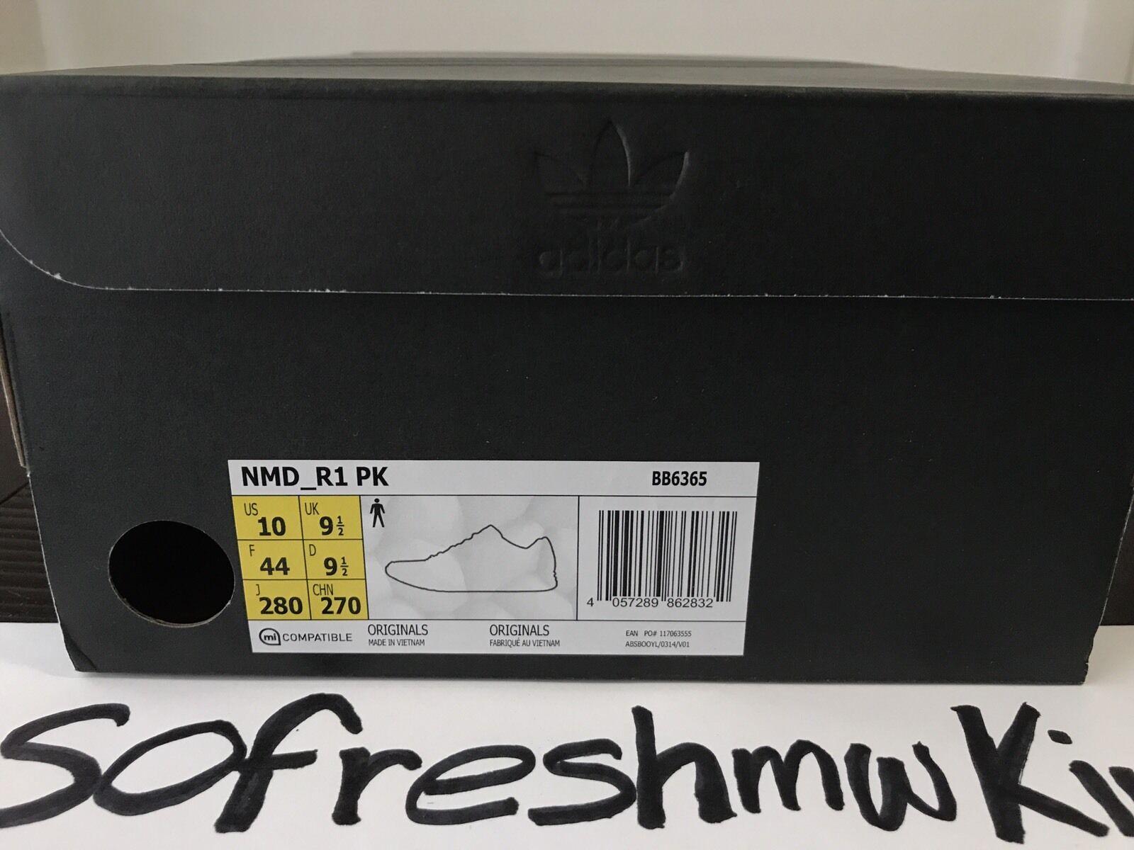 Adidas NMD R1 PK SNS Datamosh BB6365 BB6365 BB6365 Size 10 US Vapour Steel Glitch orange 3e38bc