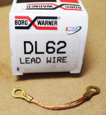 Distributor Ground Lead Wire BWD DL62 For Chrysler 65-71 Ford Lincoln Merc 65-75