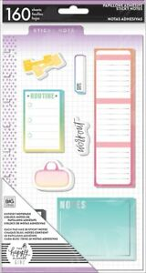 Details about Me & My Big Ideas CLASSIC Happy Planner Healthy Hero Sticky  Notes POST-31