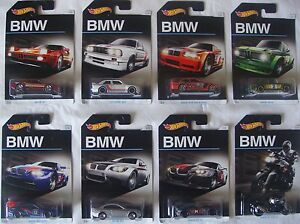 Image Is Loading Hot Wheels Bmw Series 100th Anniversary Set Of