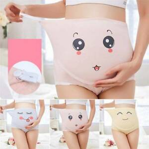 d1238eb55039d Image is loading Cotton-Pregnant-Women-Maternity-Underwear-Breathable-Soft- Belly-