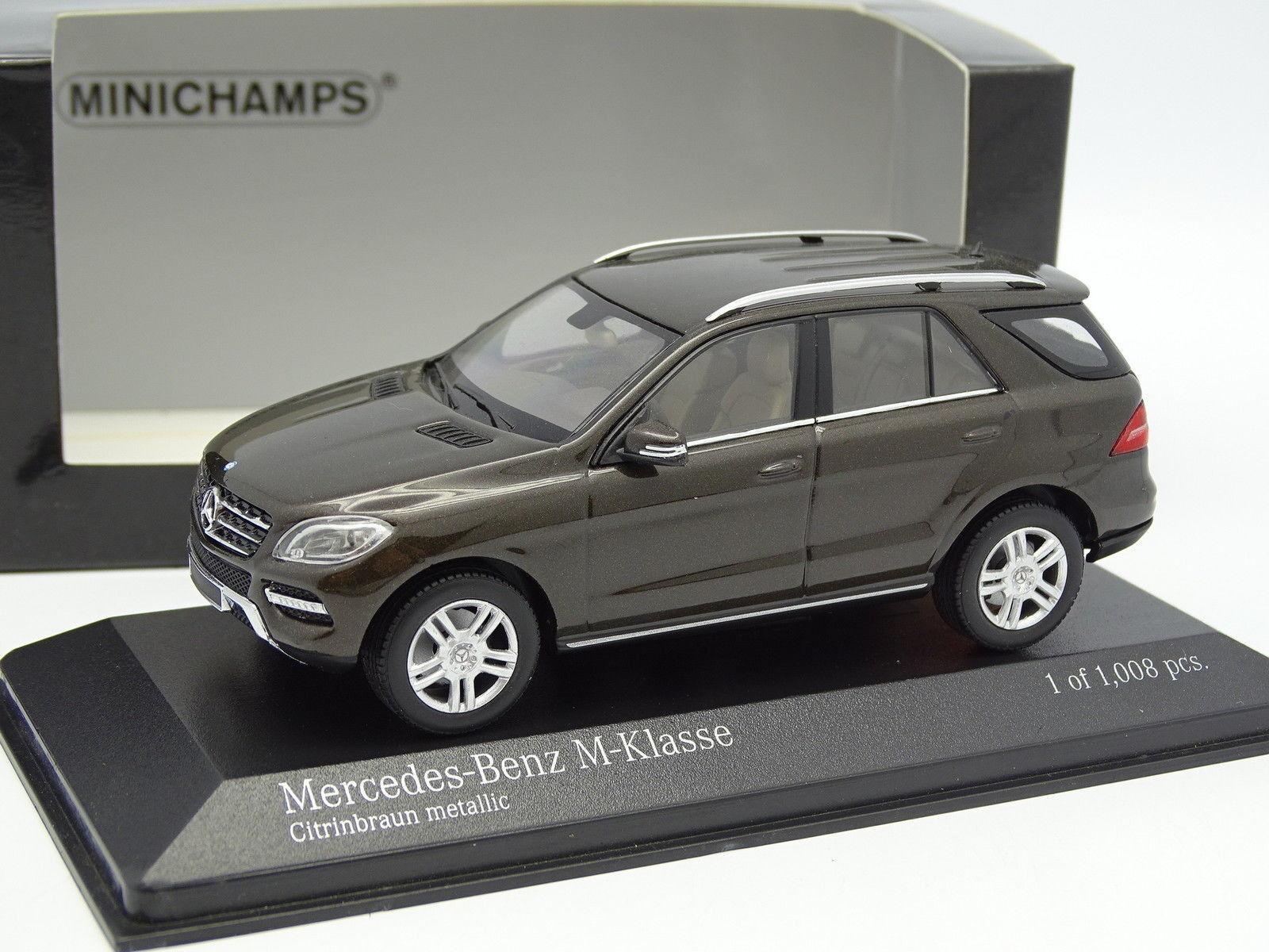 grandes ahorros Minichamps 1 43 - Mercedes Clase Clase Clase M Marrón  el mas reciente