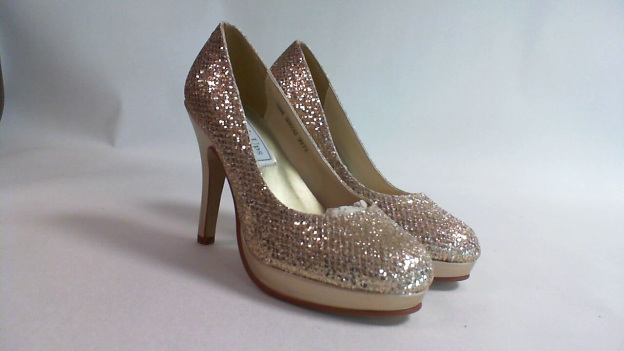 Touch Ups Wedding Shoes - Champagne - Candice - US 6.5 M UK 4.5 #4L382