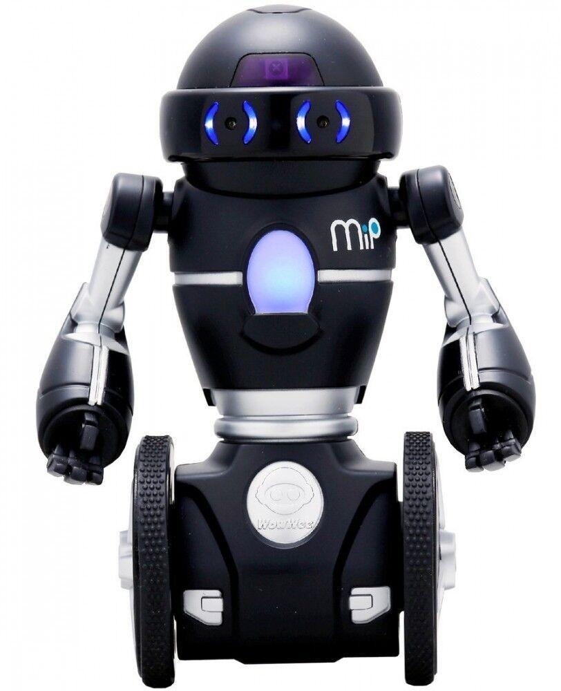 Nuovo Omnibot Hello Mip - Takara Tomy Two-Wheeled Robot Nero Con