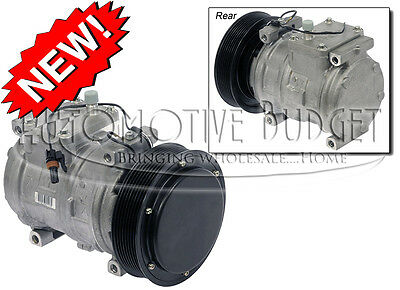 A//C Compressor w//Clutch for John Deere 10PA17C 8GR 145mm 12v NEW