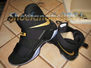 the best attitude e28c4 3ffd6 Image is loading Nike-Zoom-LeBron-Soldier-10-ID-NBA-Finals-