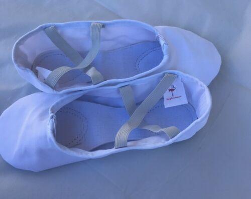 A7001 Adult Canvas Split-Sole Ballet Shoes by Energetic Dancewear