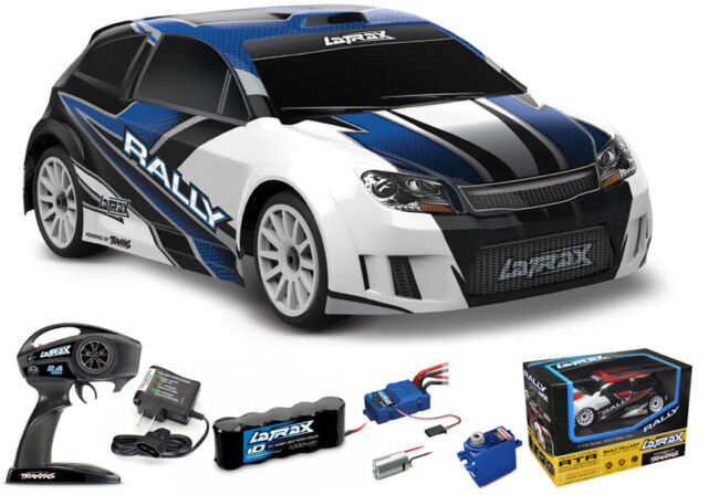 Traxxas  75054-5-ORNG LaTrax Rally Car 1//18 Scale Orange