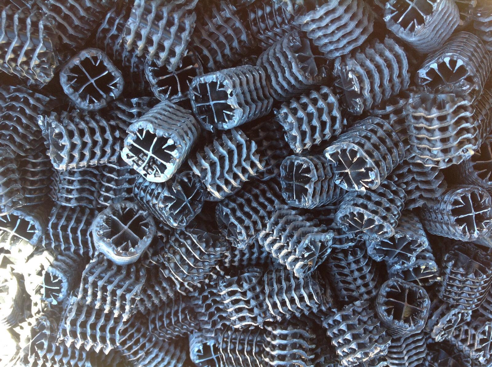 Hel-x 17 kll NERO 50 litro di alta qualità filtro materiale KOI LAGHETTO BIOFILTER