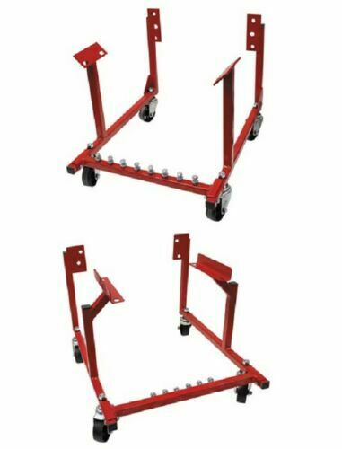 New Engine Cradle Stand Chevrolet Chevy Chrysler V8 1000lb with Dolly Wheels