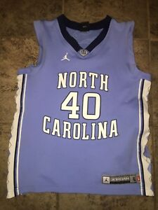 quality design a9911 d6e05 Details about Vintage Harrison Barnes North Carolina Jordan Brand Jersey  #40 / Kids 16/18 (L)
