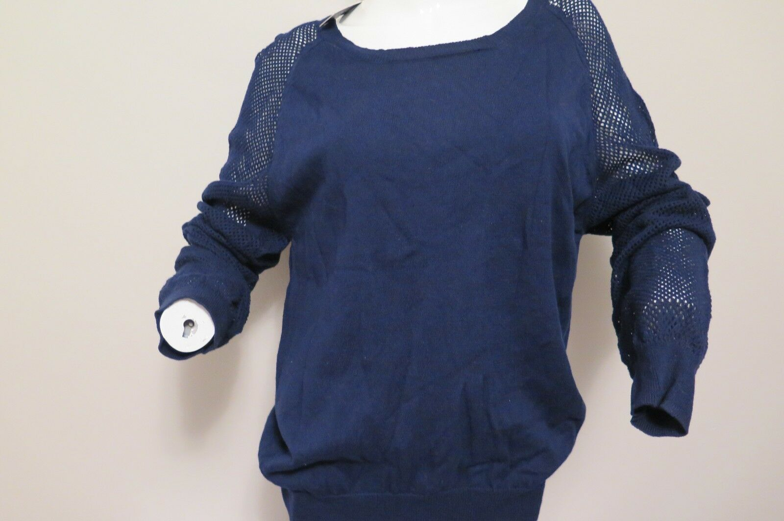 W118by WalterBaker  New navy barclay sweater size L