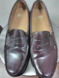 Sebago Men's Classic Penny Loafers 10.5 D Brown/Burgundy ...
