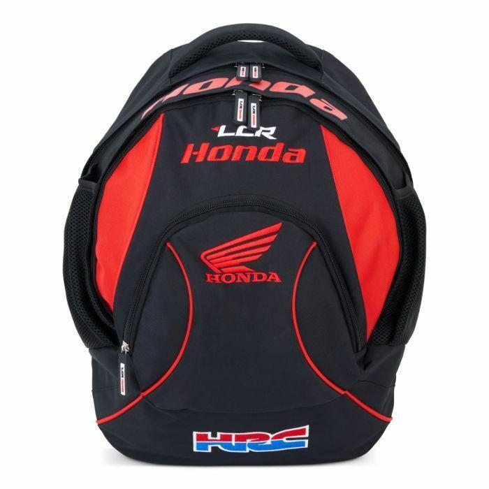 Official LCR Honda Team Backpack (Black) - 20LCRBLK-BP